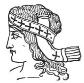 Bacchus, with Head-Band covered with Crosses